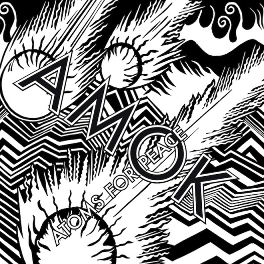 Atoms For Peace Amok album cover