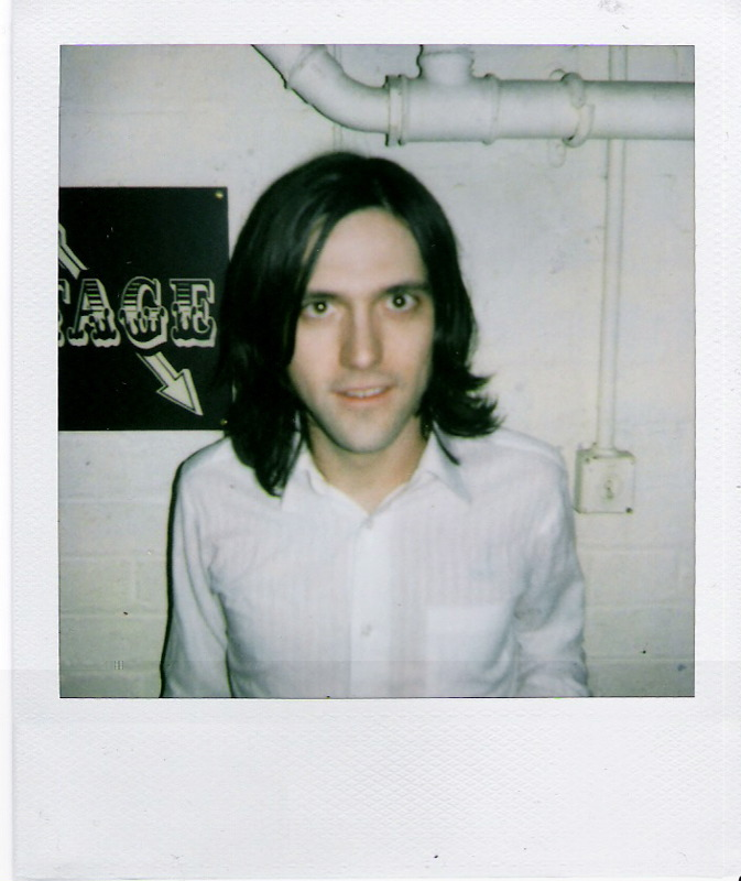Conor Oberst backstage
