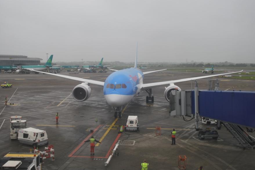 Thomson B787-8 Dreamliner in Dublin