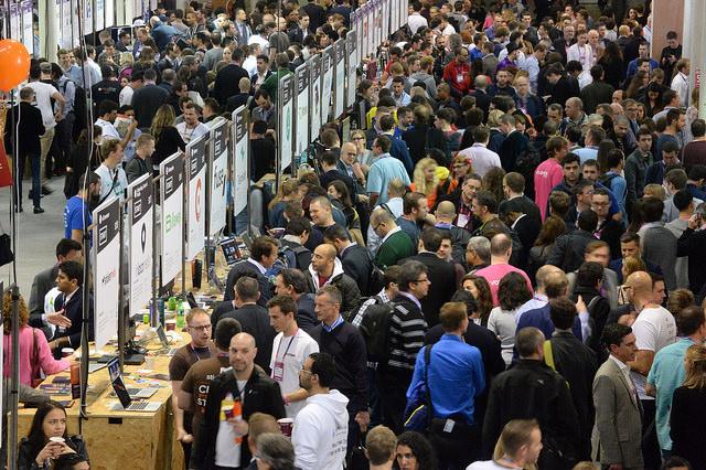 Exhibitors at Web Summit 2015
